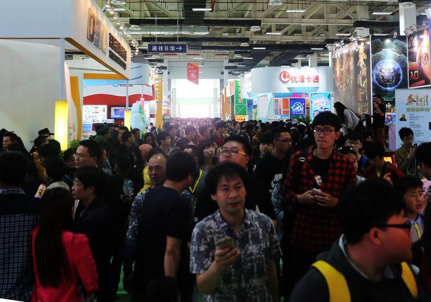 4月28日,第十届中国国际动漫节在杭州市白马湖动漫广场开