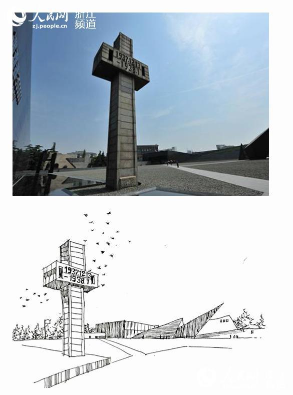 """从4月份到现在,浙江理工大学建筑学学生支部开展了""""手绘红色记忆"""""""
