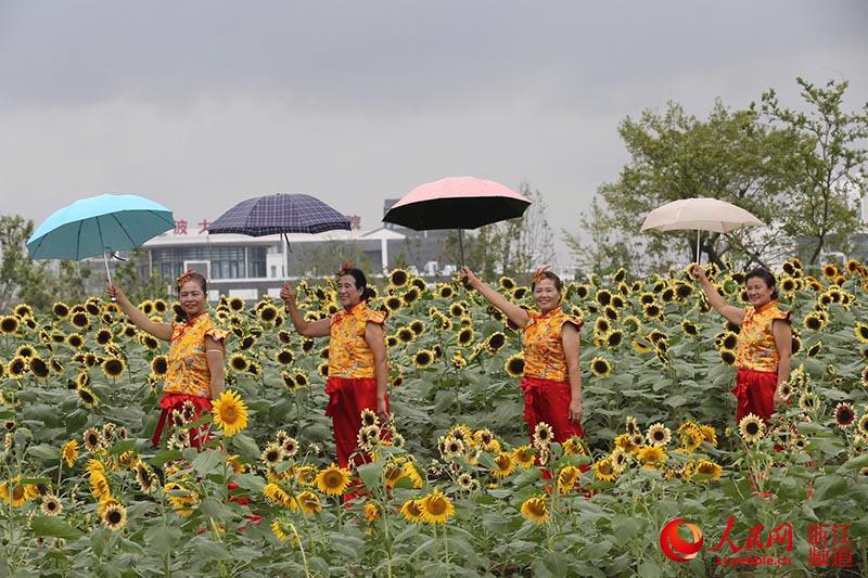 9月28日,市民在宁波植物园参观。 当日,宁波植物园开园试营业,项目规划总用地面积达322公顷。规划分为体育休闲植物区、科普观光植物区和花卉园艺植物区三大片区。 科普观光植物区分别打造春、夏、秋、冬四季植物景观体验区,包含了木兰春色园、樱花海棠园、水生湿生植区、古沉木园等17个植物专类园。 据统计,目前全园已引进植物原种约630余个,园艺品种约2000余种,已栽植乔木25000余株。(章勇涛)