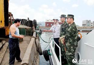 舟山海事助力水路货运整治显成效