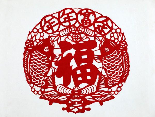 中国民间剪纸手工艺术,犹如一株常春藤,古老而长青,它特有的普及
