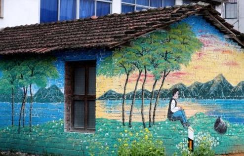 农耕文化墙绘