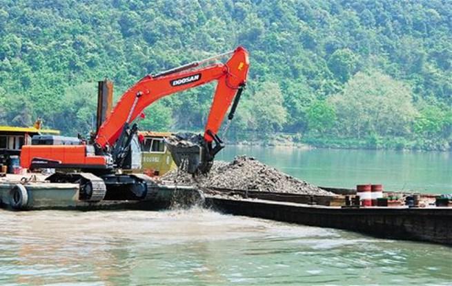 新安江清淤
