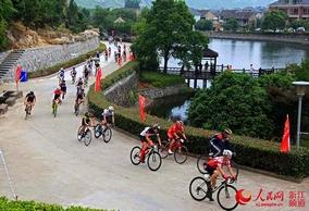 自行车爬坡挑战赛