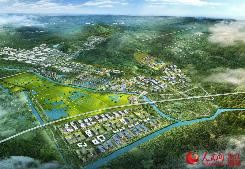 湖州吴兴 美妆小镇打造 中国的格拉斯 图图片