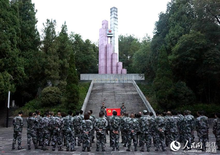 烈士陵园扫墓