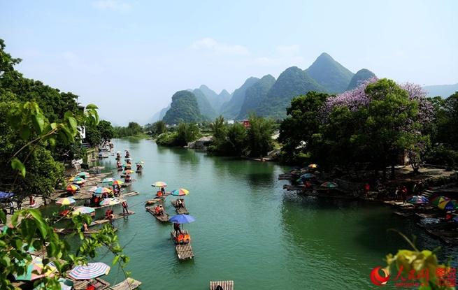 桂林山色——秀美遇龙河
