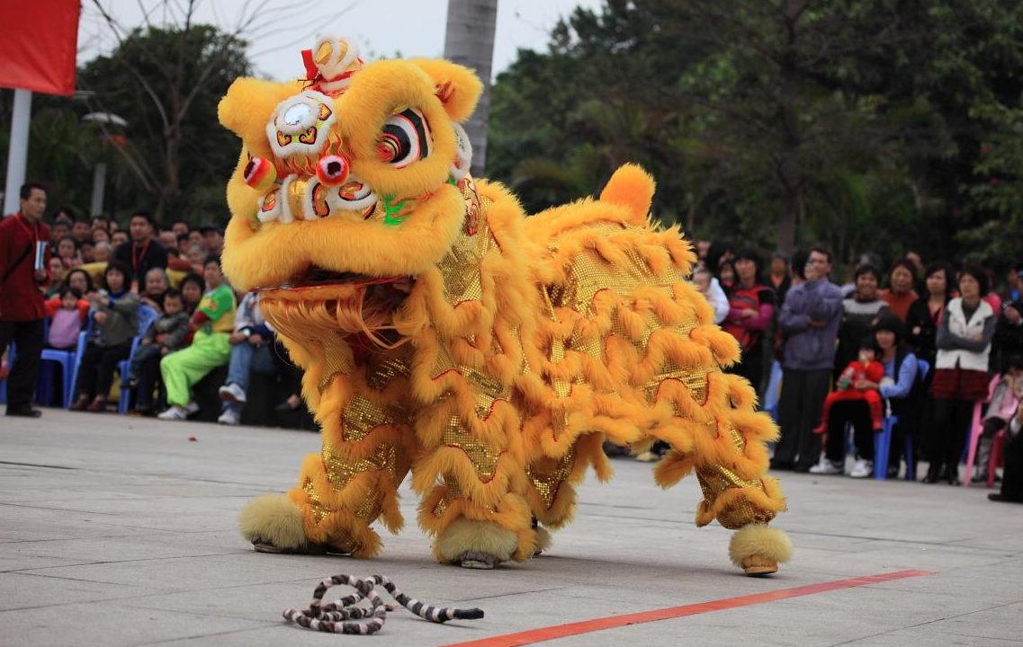 """嘉兴湘家荡""""龙狮""""文化走进校园"""