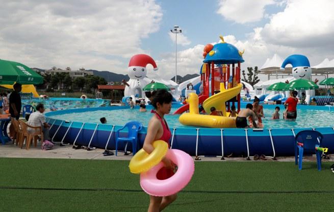快来玩!义乌这个村里有个游乐园