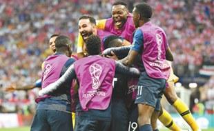 法国队夺得冠军