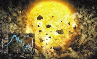 钱德拉望远镜或首次见证行星被吞噬场景