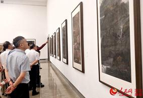 """""""诗画江山""""张华锋艺术作品展在杭举行"""