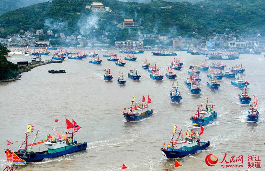 宁波:伏休结束 东海全面开捕