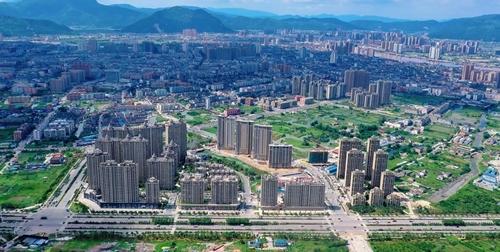 """""""中国第一座农民城""""温州龙港撤镇建市"""