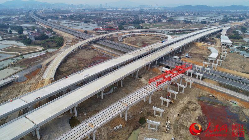 杭州亚运会配套工程有序复工