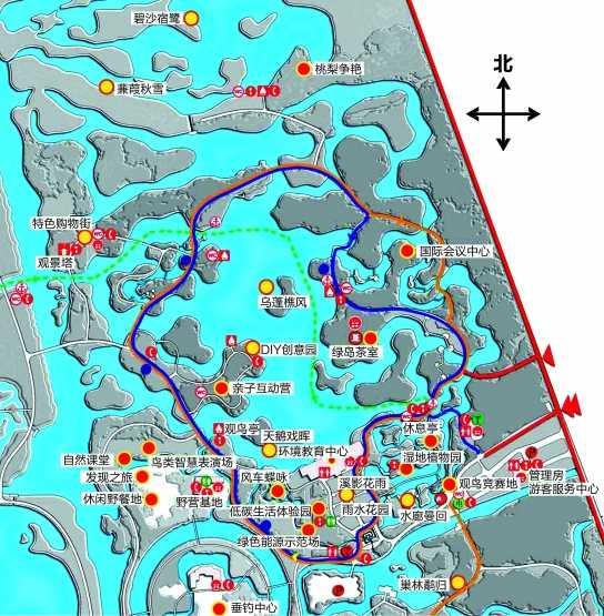 北京南海子麋鹿院地图