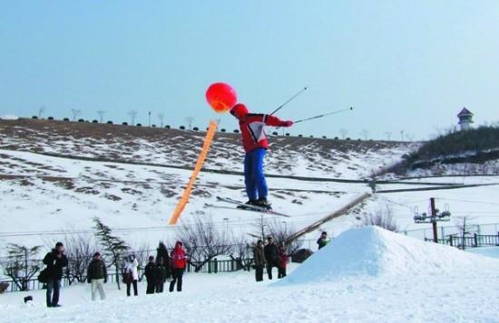 湖州 江南天池 快乐滑雪图片